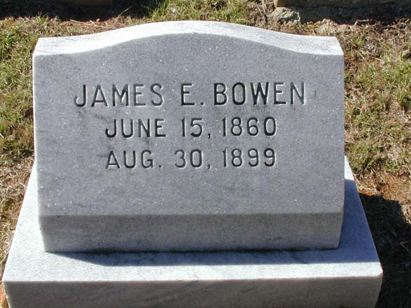 son of james alexander bowen